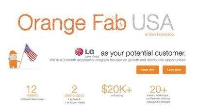 La pépinière Orange s'associe à LG, FNAC et Visa dans la Silicon ... - Clubic.com | Très haut-débit : Fibre et 4G | Scoop.it