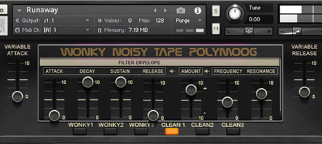 SynthMagic's Free Wonky Tape PolyMoog For NI Kontakt | BPB | Music: Equipment, Production and News. | Scoop.it
