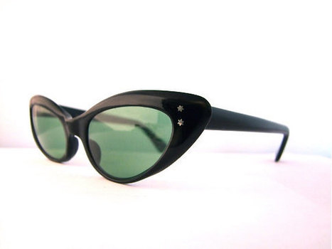 1950's  Cats Eye  Eyeglasses | whats been spotted on etsy today? | Scoop.it