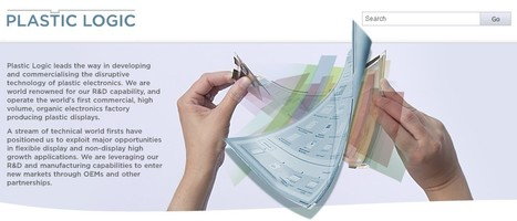 Plastic Logic | Flexible display | 21st Century Innovative Technologies and Developments as also discoveries, curiosity ( insolite)... | Scoop.it