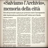 Un sit-in a Perugia le 7 février contre le déclassement de l'Archivio di Stato | Généal'italie | Scoop.it