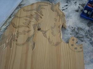 Créer une tête de cheval à la scie à chantourner #idée #DIY #enfant   Best of coin des bricoleurs   Scoop.it