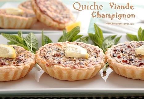 quiche viande hachée,champignon   cuisine algerienne et recettes de ramadan   Scoop.it