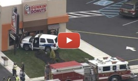 Speeding Police Cruiser Crashes Into Dunkin' Donuts | Police Problems and Policy | Scoop.it