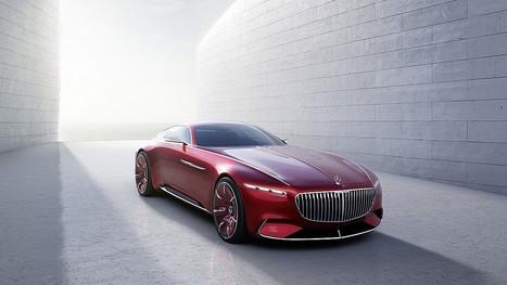 Mercedes Maybach 6: tecnologicamente retrò   Motori e Buon Cibo   Scoop.it