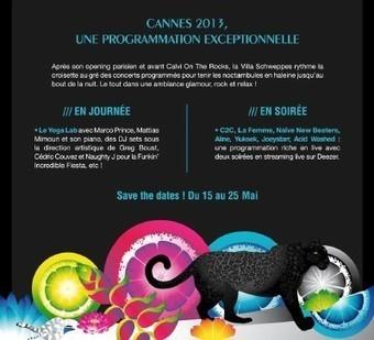 La Terrazza Martini on the rocks 150, la Villa Schweppes (Cannes avant Calvi), sous les Marches, la plage... (les plages VIP du festival) | Schweppes | Scoop.it