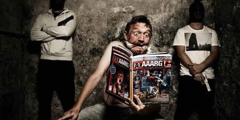 """""""Aaarg !"""" la revue dessinée à l'humour trash souffle sa première bougie   Biblio-thèques   Scoop.it"""