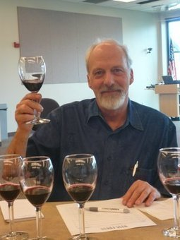 """""""Wine judge for a day is hard work"""" 