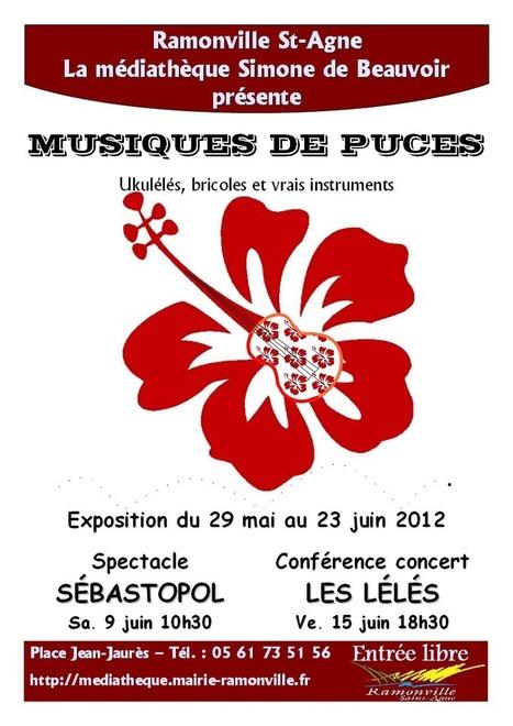 """Animation """"Musiques de puces"""" à la Médiathèque de Ramonville   Musique en bibliothèque   Scoop.it"""