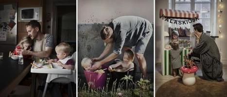 El otro retrato de la licencia: padres suecos fotografiados en su derecho a cuidar a sus hij@s   Genera Igualdad   Scoop.it
