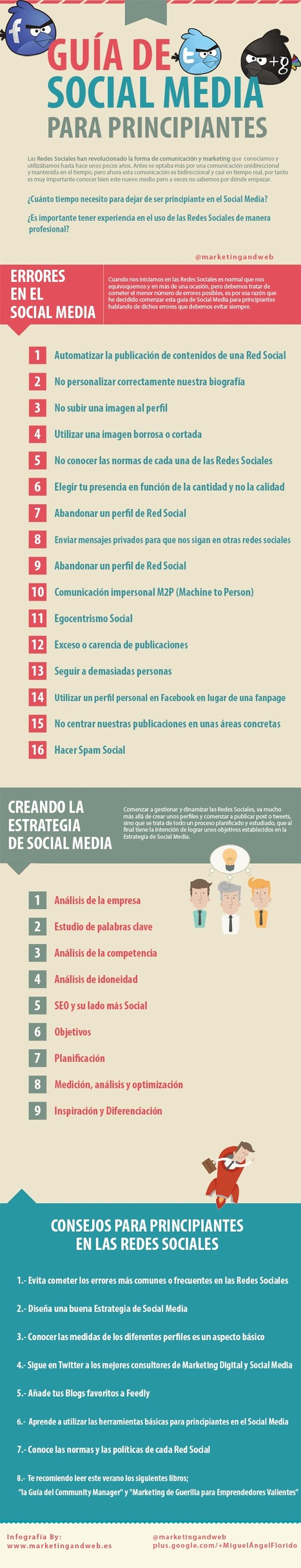 Guía de Social Media para principiantes | MarKetingneando | Content Curator | Scoop.it