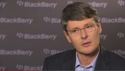 Blackberry CEO says Apple is behind the times   I can explain it to you, but I can't understand it for you.   Scoop.it
