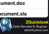 ZQuicklook | Objective-C | CocoaTouch | Xcode | iPhone | ChupaMobile | Mobile App Development | Scoop.it