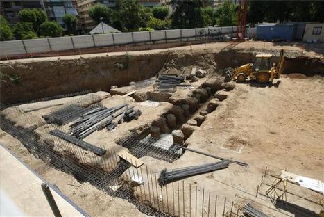 Hallado un sarcófago romano en las obras de los Jardínes de la Agricultura de Córdoba | LVDVS CHIRONIS 3.0 | Scoop.it