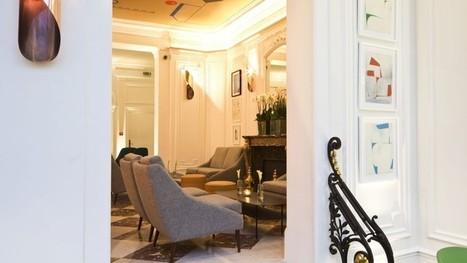 Le Vernet, un bar déco sagement contemporain - Le Figaro | HOTEL RELAIS SAINT-JACQUES | Scoop.it