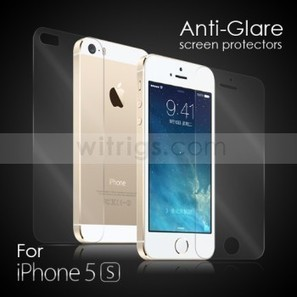 Anti-Glare Screen Protector for Apple iPhone 5S - Witrigs.com | Do iphone 5s need screen protectors | Scoop.it