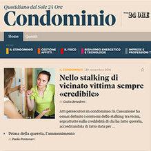 Nello stalking di vicinato vittima sempre «credibile» | Media | Scoop.it