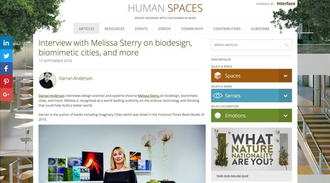 Human Spaces interview | Bionic City™ | Scoop.it