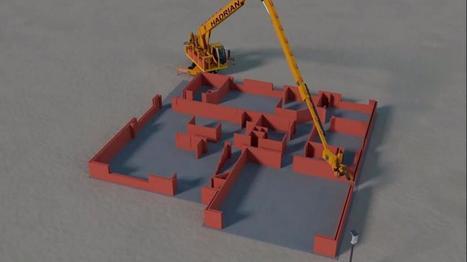 Robot albañil: construye una casa en dos días y pone mil ladrillos ... - TN.com.ar | Terre cuite Espagne | Scoop.it