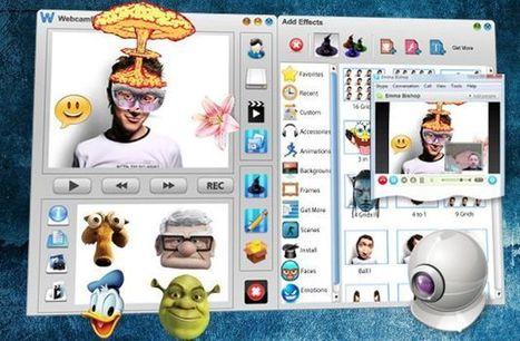 Webcam Effects, decora tu rostro y aplica efectos a tus vídeos para grabar o videoconferencia | oriana perez  guedez | Scoop.it