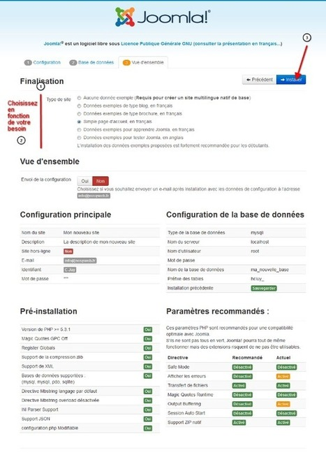 TUTO : Installer Joomla 3.2 en local en 3 étapes avec WampServer | Time to Learn | Scoop.it