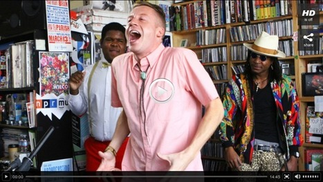 Macklemore & Ryan Lewis: Tiny Desk Concert : NPR | Google+ one post at the time | Scoop.it