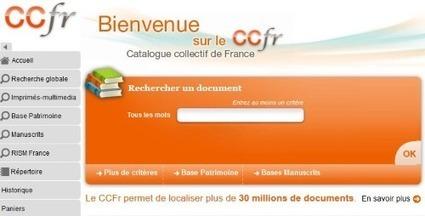 Quand Gallica sème à tout va… avec le Catalogue Collectif de France | Gallica | Nos Racines | Scoop.it