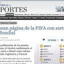 Prensa mundial cae en broma de Eldeforma.com | Deportes | Scoop.it