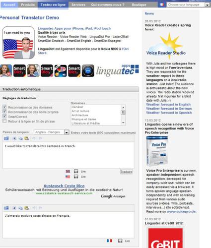 Traducteurs en ligne : comparatif 2012 des outils de traduction gratuits | Outils et  innovations pour mieux trouver, gérer et diffuser l'information | Scoop.it