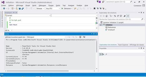 Editeurs et IDE gratuits pour PowerShell | Informatique | Scoop.it