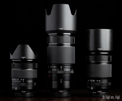 18-135mm vs. 50-140mm vs. 55-200mm | Fujifilm X | Scoop.it