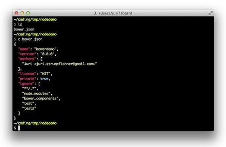 Node, Grunt, Bower and Yeoman - A Modern web dev's Toolkit | Web App development with Node.js | Scoop.it