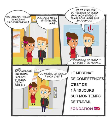 Mécénat de compétences SNCF - BD 1 | Sponsoring et Mécénat supports d'événements | Scoop.it