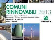 Legambiente fotografa i comuni rinnovabili. Il nostro focus sui dati del solare termico | Energia e ambiente | LucaScoop.it | Scoop.it