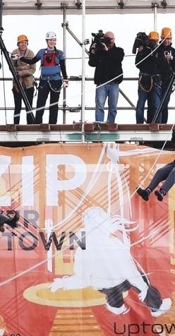 Saanich mayor learns to let go for high thrill on new zipline   Zip Lines   Scoop.it