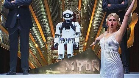 Myon, le robot ténor de l'Opéra comique de Berlin - euronews | Une nouvelle civilisation de Robots | Scoop.it