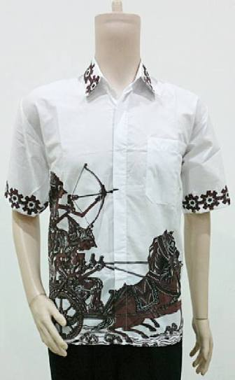 Hem Batik Motif Wayang BP709 | Toko Online Batik Ganitri | mischaYY | Scoop.it