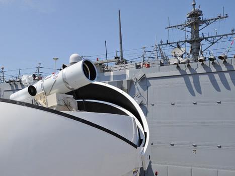 Navy unveils powerful ship-mounted laser weapon   Seguridad, terrorismo y narcotráfico   Scoop.it