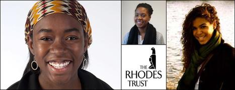 Three African American Women Win Rhodes Scholarship   Afro Parents   Scoop.it