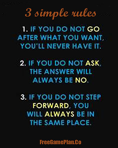 3 Simple Rules that can make a big difference in your life www.freegameplan.co ... | 40Billion | home and designs | Scoop.it