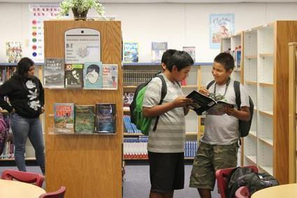 The Reedley Exponent > Archives > Publications > Parlier Post > School library a haven for students | School Libraries | Scoop.it