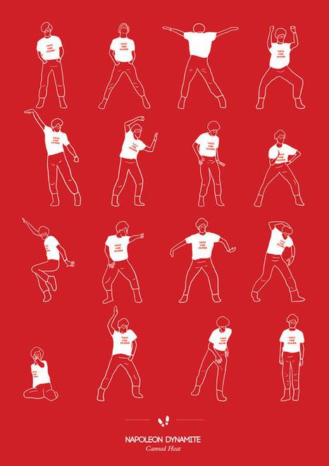 Voorbeeld: dansen in film&tv gevisualiseerd   Datavisualisatie   Scoop.it