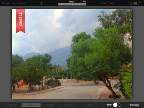 Photoristic HD Brings the iPad One Step Closer to a Perfect Image Editor | iPad.AppStorm | Better teaching, more learning | Scoop.it