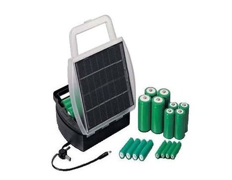 Solar Charger for Rechargeable Battery |Gadgetsin | Grade 5 Energy Unit | Scoop.it