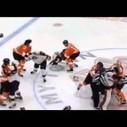 Video: AHL Line Brawl Phantoms vs. Pirates | Hockey | Scoop.it
