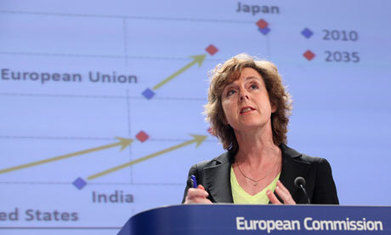 Europe's climate chief vows to fight on to save emissions trading scheme | Messenger for mother Earth | Scoop.it