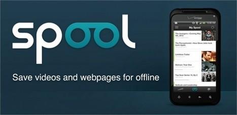 Guarda páginas y vídeos para verlos offline con Spool   #REDXXI   Scoop.it