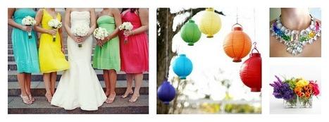 Rainbow Themed Weddings | Invitations By Dannye | Scoop.it