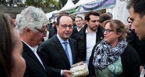 François Hollande et Stéphane Le Foll à la rencontre de nos  producteurs | Les Tables du Gers | Scoop.it