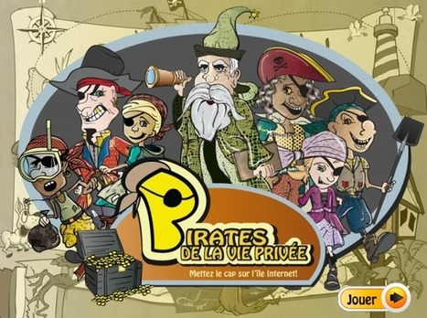 Pirate de la vie privée - Prim à bord #EMI | FLE enfants | Scoop.it